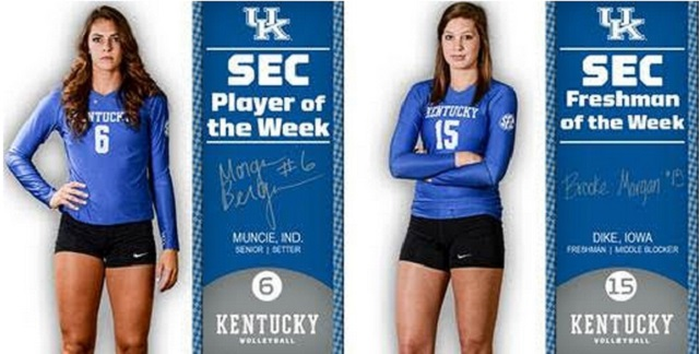 Kentucky Basketball Fox Named Sec Freshman Of The Week: Kentucky Volleyball: Bergren, Morgan Named SEC Players Of
